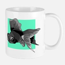 Black Betta Fish Mugs