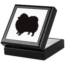 pomeranian 1C Keepsake Box
