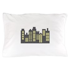 Night Skyline Pillow Case