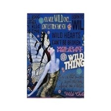 Wild Thing Rectangle Magnet Magnets