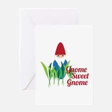 Gnome Sweet Gnome Greeting Cards