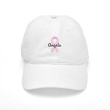 Angela pink ribbon Baseball Cap