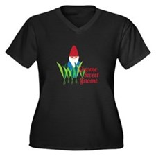 Gnome Sweet Gnome Plus Size T-Shirt