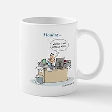 Monday Morning Shabbos Blues Mug Mugs