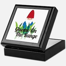 Gnome On The Range Keepsake Box