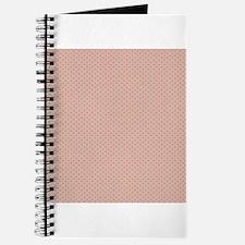 Pink Green Small Polka Dots Journal