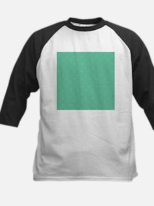 Seafoam Green Circle Diamond Pattern Baseball Jers