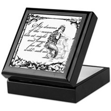 Unique Lory Keepsake Box