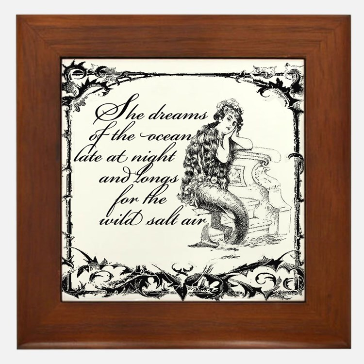 Cute Dreams Framed Tile