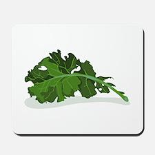 Kale Leaf Mousepad