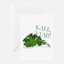 Kale Yeah Greeting Cards