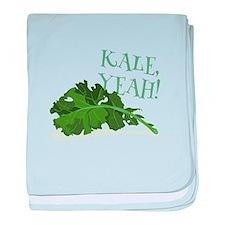 Kale Yeah baby blanket