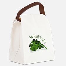 Hail Kale Canvas Lunch Bag