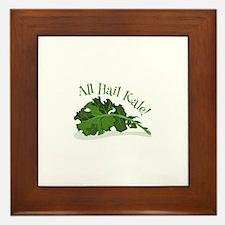 Hail Kale Framed Tile