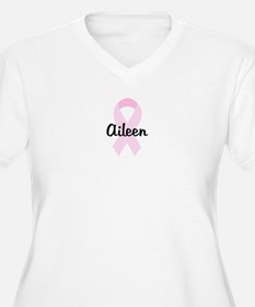 Aileen pink ribbon T-Shirt