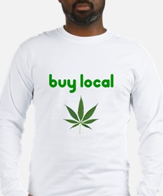 Cool Support local farms Long Sleeve T-Shirt
