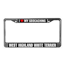 I Love My GeoCaching West Highland White Terrier