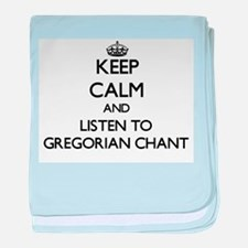 Cute Gregorian chant baby blanket