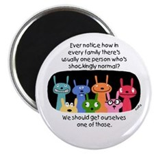 "Shockingly Normal 2.25"" Magnet (10 Pack) Magn"