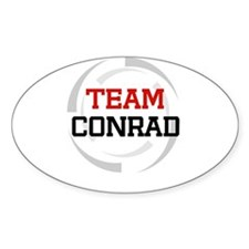 Conrad Oval Decal