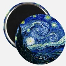 Starry Night.variation1 Magnets