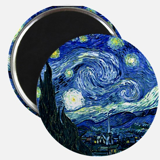 Starry Night.variation1 Magnets