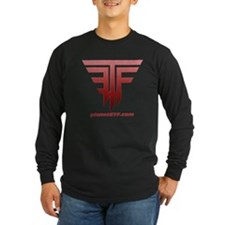 planetETF-shirt-dark Long Sleeve T-Shirt