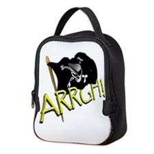 Talk like a pirate Neoprene Lunch Bag
