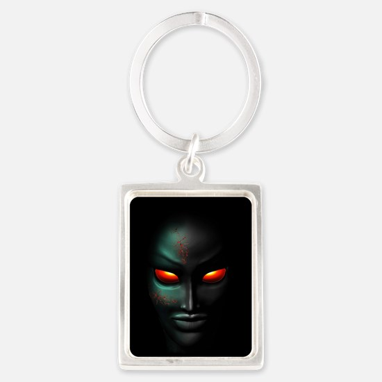 Zombie Ghost Halloween Face Keychains