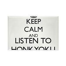 Keep calm and listen to HONKYOKU Magnets