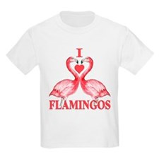 I Love Flamingos T-Shirt