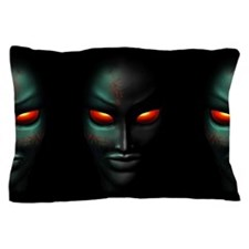 Zombie Ghost Halloween Face Pillow Case