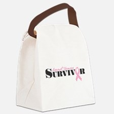 Unique Cancer survivor Canvas Lunch Bag