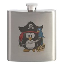 Cute Pirate Flask