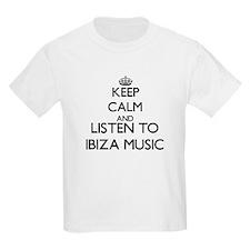 Keep calm and listen to IBIZA MUSIC T-Shirt