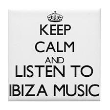 Cute Ibiza Tile Coaster
