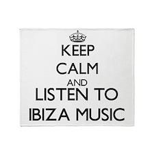 Cute Ibiza Throw Blanket