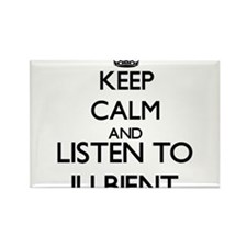 Keep calm and listen to ILLBIENT Magnets