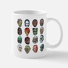 Horror Movie Monsters Masks Mug