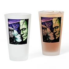 Monsters in Love Bride & Frankie Drinking Glass