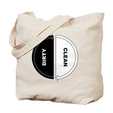 Cool Dirty clean dishwasher Tote Bag