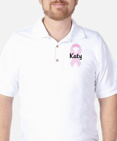 Katy pink ribbon T-Shirt