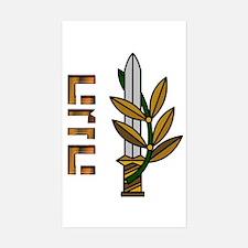 HaHaganah Logo Decal