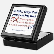 Bush's Flag Week Keepsake Box