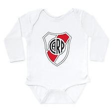 Unique Argentina soccer Long Sleeve Infant Bodysuit
