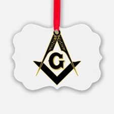 Masonic Black Ornament