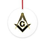 Freemason Round Ornaments