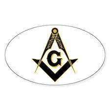 Masonic Black Decal