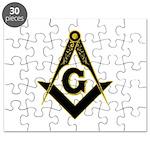 Masonic Black Puzzle