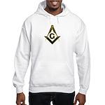 Masonic Black Hooded Sweatshirt
